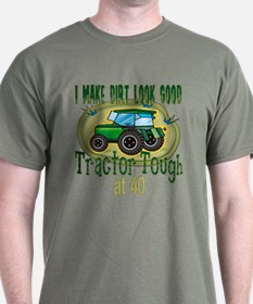 Tractor Tough 40th T-Shirt