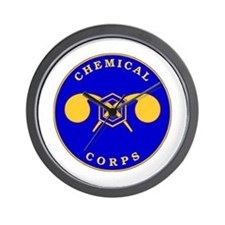 Chemical Corps Wall Clock