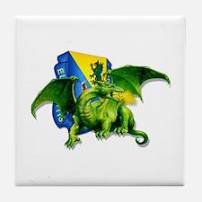Dragon Soldier Tile Coaster