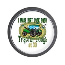 Tractor Tough 30th Wall Clock