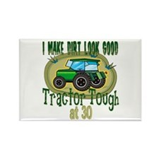 Tractor Tough 30th Rectangle Magnet