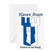 Haven Avare Greeting Card