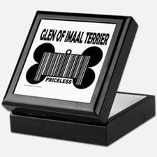 GLEN OF IMAAL TERRIER PRICELESS Keepsake Box