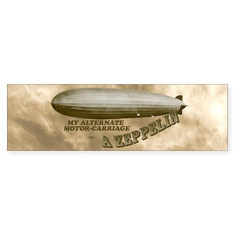 My Other Car is a Zeppelin Bumper Sticker