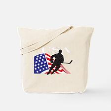 Unique Usa hockey Tote Bag