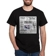 Historic Headlines Obama T-Shirt