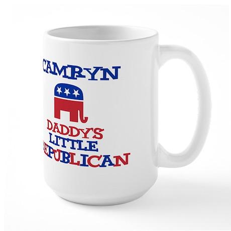 Camryn - Daddy's Republican Large Mug