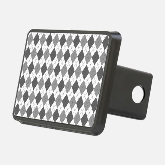 Grey: Argyle Pattern Hitch Cover