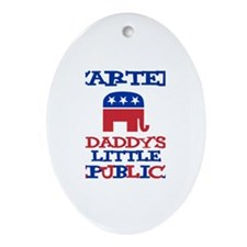 Carter - Daddy's Republican Oval Ornament