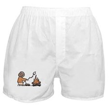 Campfire Rather be camping Boxer Shorts