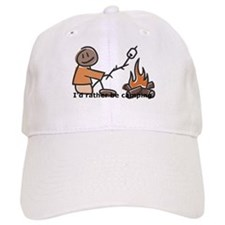 Campfire Rather be camping Baseball Cap