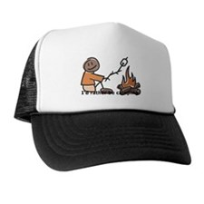 Campfire Rather be camping Trucker Hat