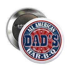 "Dad's All American Bar-B-Q 2.25"" Button"