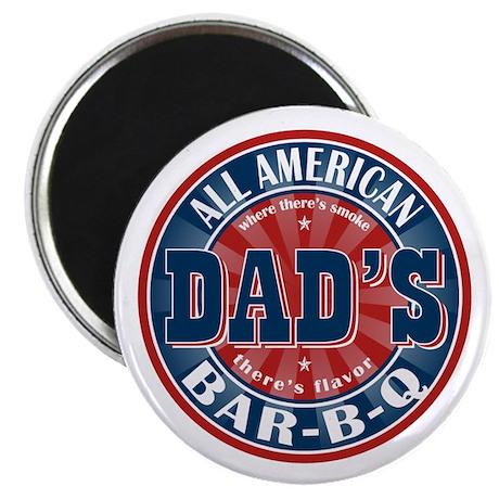 "Dad's All American Bar-B-Q 2.25"" Magnet (10 pack)"