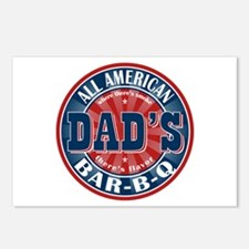 Dad's All American Bar-B-Q Postcards (Package of 8