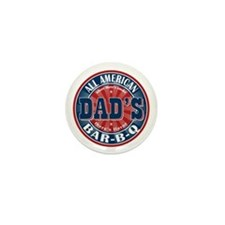 Dad's All American Bar-B-Q Mini Button