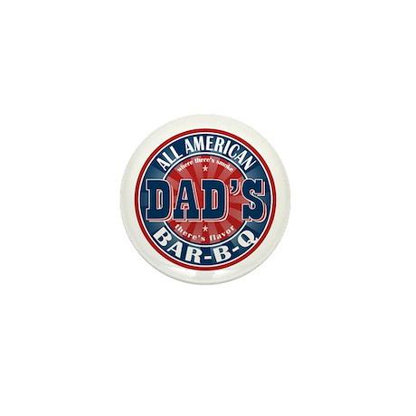 Dad's All American Bar-B-Q Mini Button (100 pack)