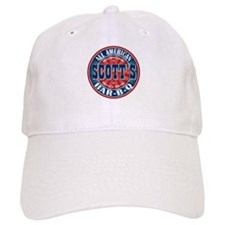 Scott's All American Bar-B-Q Baseball Baseball Cap