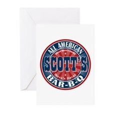 Scott's All American Bar-B-Q Greeting Cards (Pk of