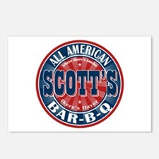 Scott's All American Bar-B-Q Postcards (Package of