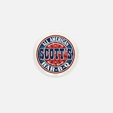 Scott's All American Bar-B-Q Mini Button