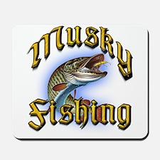 Musky Fishing 2 Mousepad