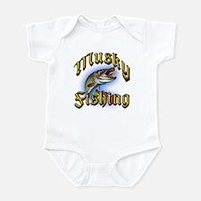 Musky Fishing 2 Infant Bodysuit