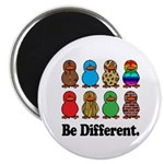 Be Different Ducks Magnet