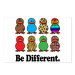 Be Different Ducks Postcards (Package of 8)