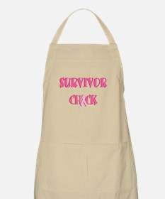 Survivor Chick BBQ Apron
