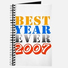 Best year ever 2007 Journal
