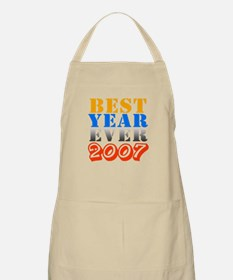 Best year ever 2007 BBQ Apron