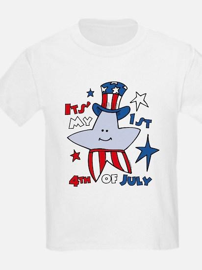 My First Fourth Star T-Shirt