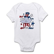 My First Fourth Star Infant Bodysuit