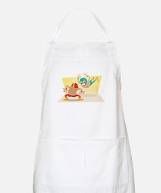 Mexican Wrestling! BBQ Apron