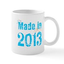Fresh Blue Made in 2013 Mug