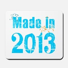 Fresh Blue Made in 2013 Mousepad