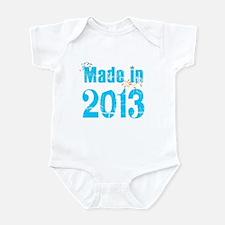 Fresh Blue Made in 2013 Infant Bodysuit