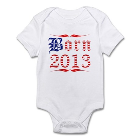 Born All American in 2013 Infant Bodysuit