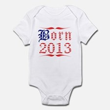 Born All American in 2013 Infant Bodysuit