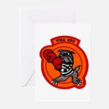 VMA 223 Bulldogs Greeting Cards (Pk of 10)