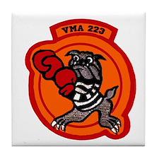 VMA 223 Bulldogs Tile Coaster