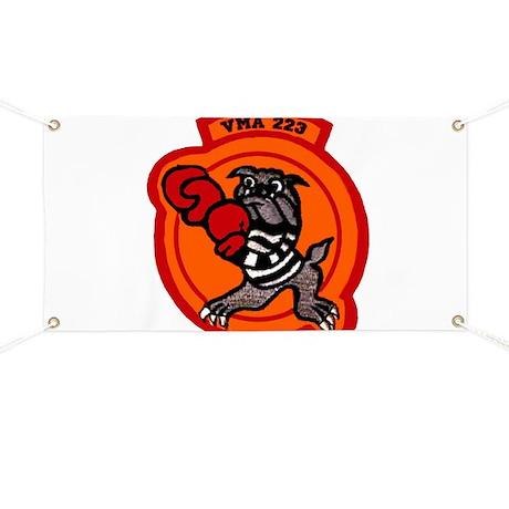 VMA 223 Bulldogs Banner