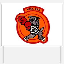 VMA 223 Bulldogs Yard Sign