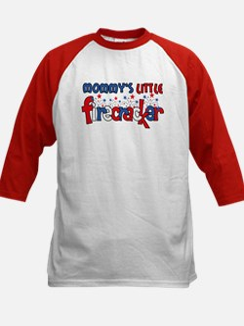 Mommy's Little Firecracker Kids Baseball Jersey