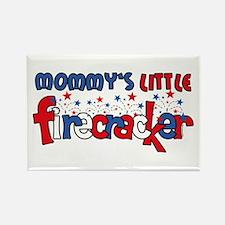 Mommy's Little Firecracker Rectangle Magnet