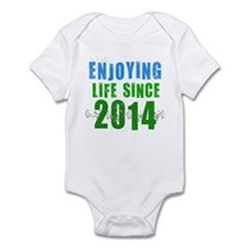 Enjoying life since 2014 Infant Bodysuit