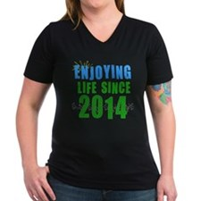 Enjoying life since 2014 Shirt
