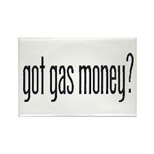 got gas money? Rectangle Magnet