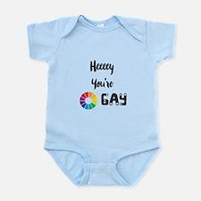Heeeey You're Gay Body Suit